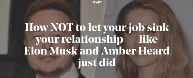 How to NOT let your job sink your relationship