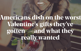 the worst Valentine's gifts