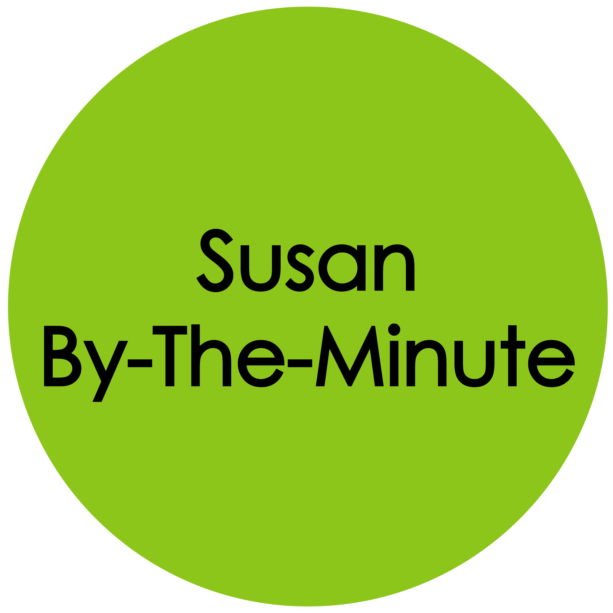 susan by the min button
