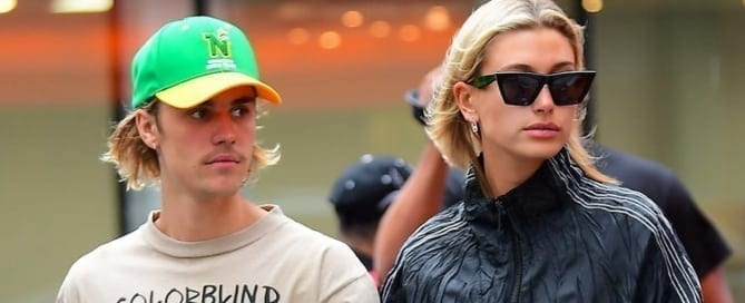 Justin and Hailey had a fast food date