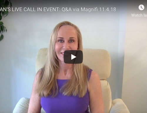 SUSAN LIVE: Q&A via Magnifi Sunday Nov. 4th 12pm EST