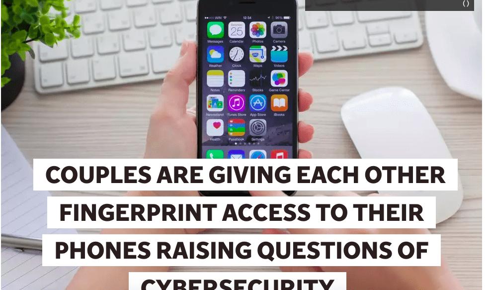 Fingerprint access to phones