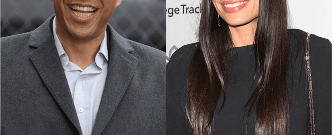 Cory Booker & Rosario Dawson